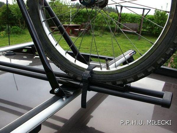 Bagażnik rowerowy stalowy zamykany